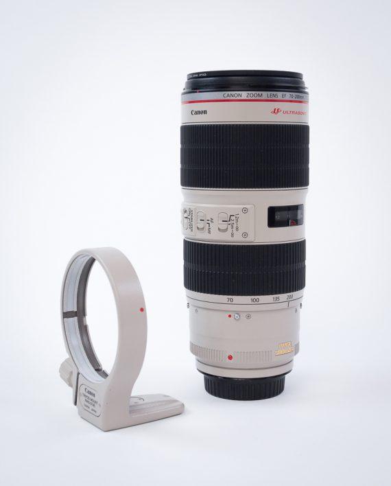 Vermietung Verleih Canon EF 2,8/70-200 L IS II USM weiß Canon EF Dresden