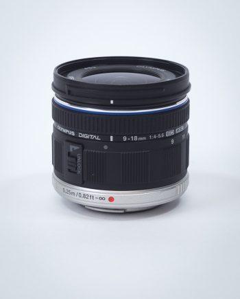 Vermietung Olympus 9-18mm MFT Objektiv Optik Dresden