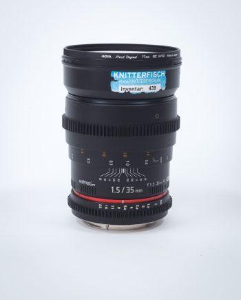 Vermietung Walimex Pro 35mm Festbrennweite Objektiv Dresden