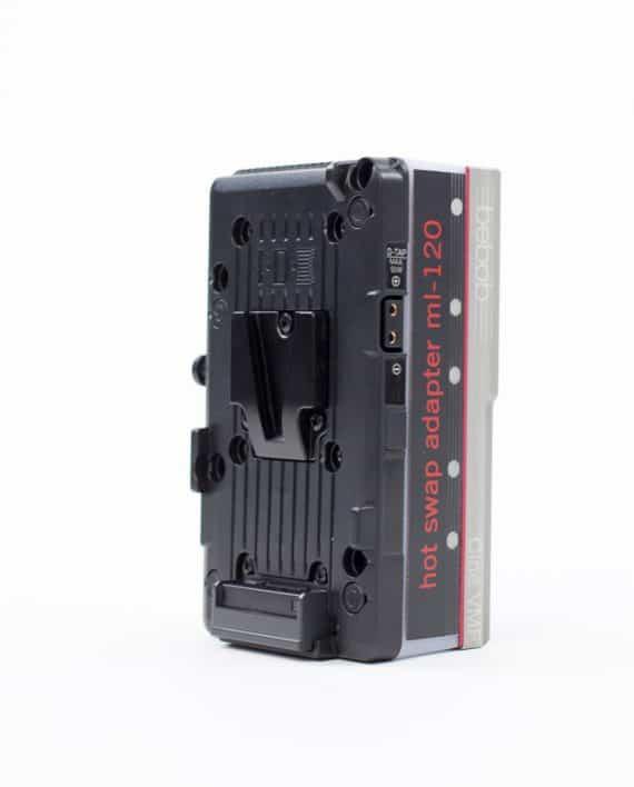 Vermietung Bebob ML-120V/V Hot Swap Adapter V-Mount Kamera Verleih Dresden